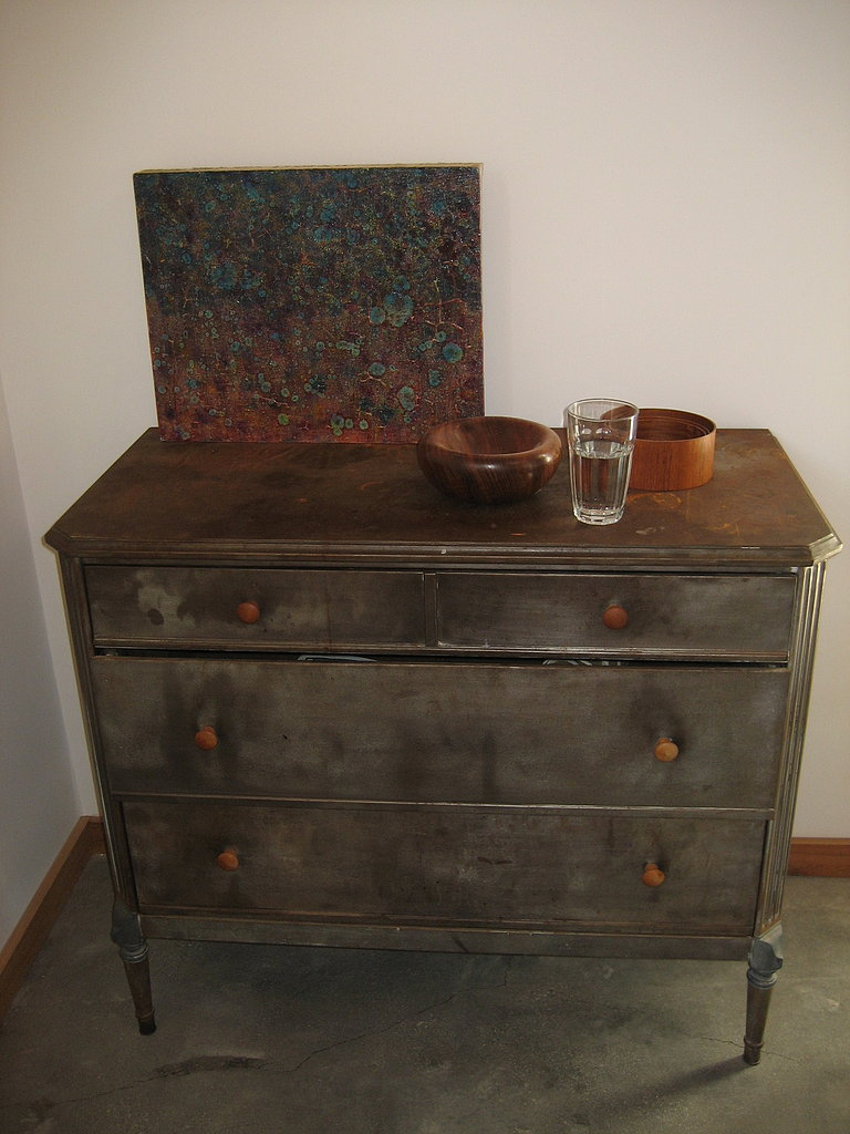 Salvaged Metal Dresser