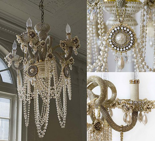 Crave Worthy: Erickson Beamon Glam Rock Chandelier