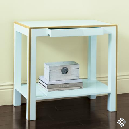 Crave Worthy: Gump's Lacquered Side Table