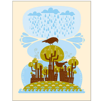 Great Art Online:  Tree Factory by Amy Ruppel