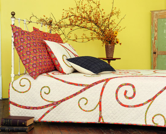 A Romantically Made Bed