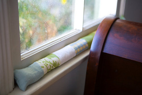 DIY: Window Draft Blocker
