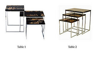 Less or More:  Nesting Tables