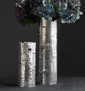 Steal of the Day: Recycled Aluminum Bark Vases