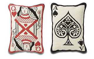 Steal of the Day: Jonathan Adler Needlepoint Card Pillows