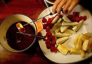 Fondue + You = Skewer . . . Dip . . .Yum