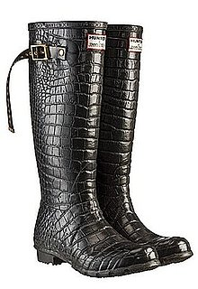 Jimmy Choo For Hunter Croc-Embossed Boots: Love It or Hate It?