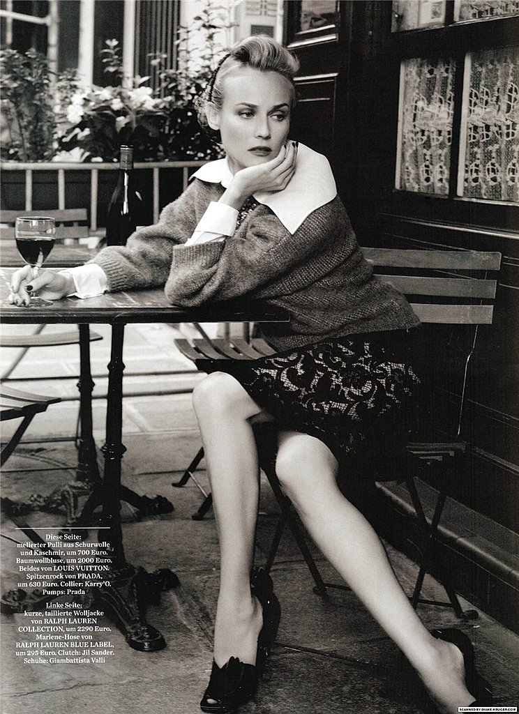 Girls on Film: Diane Kruger, Amica, January