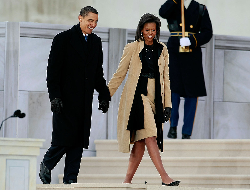 Michelle Obama in Narciso Rodriguez