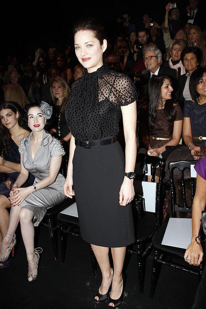 Marion Cotillard at Christian Dior