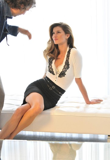 Gisele Bündchen For Rampage Ad Campaign