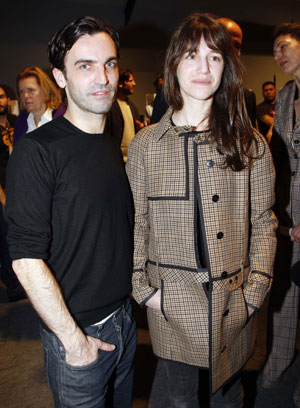 Fab Flash: Charlotte Gainsbourg to Model Balenciaga