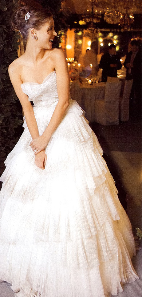 Fab Favorite Celebrity Wedding Dresses