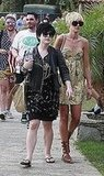 Kelly Osbourne and Kimberly Stewart