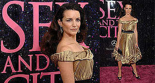 Sex and the City New York Premiere: Kristin Davis
