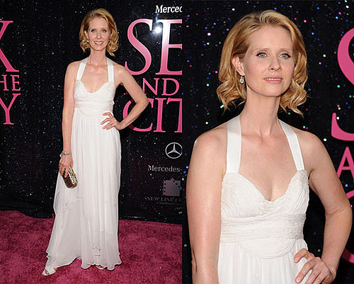 Sex and the City New York Premiere: Cynthia Nixon