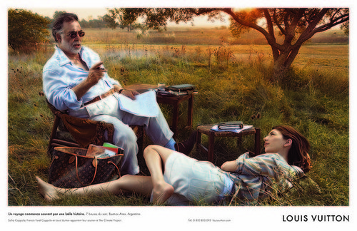 Fab Ad: Louis Vuitton Core Values Campaign Featuring Francis and Sofia Coppola