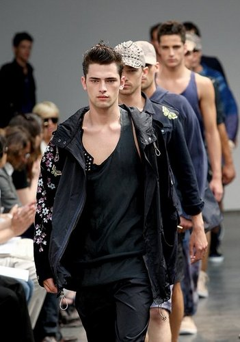 Male Models at Menswear Milan Fashion Week