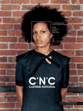 Fab Ad: C'N'C Costume National Fall 2008