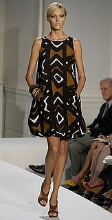 The Look For Less: Oscar de la Renta African Print Dress