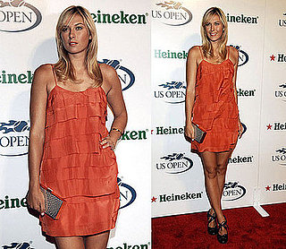 Maria Sharapova Wears Stella McCartney at 2008 US Open USTA/Heineken Premium Light Official Players Party