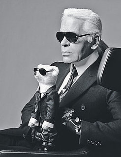 Freaky or Fabulous? Karl Lagerfeld, the Teddy Bear