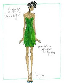 Fashion Week Quickie: Tracy Reese's Green Gardens