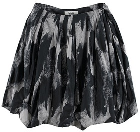 The Look For Less: Acne Jeans Flaunt Print Skirt