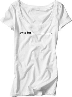 Simply Fab: Gap Vote For Tee