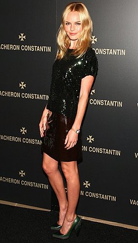 Kate Bosworth in Green Miu Miu Pumps