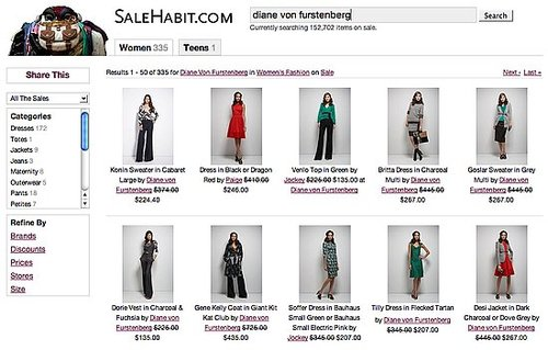 Fashion Recession: The Sale Motherlode at SaleHabit.com