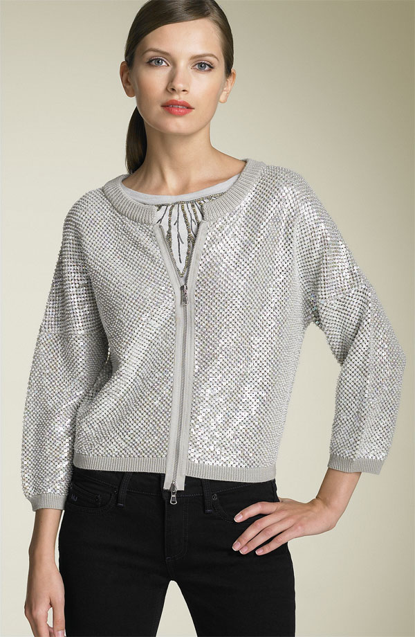 "Marc by Marc Jacobs ""Etta"" Sparkle Sweater"