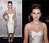 Scarlett Johansson in an Ivory Dolce &amp; Gabbanna Dress at the A Funny Thing Happened on the Way to Cure Parkinson&#039;s Benefit