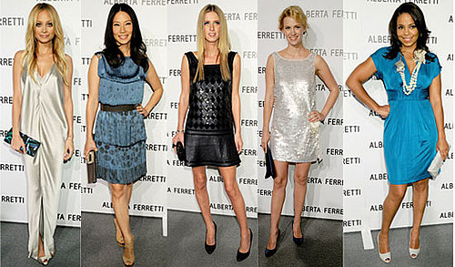 Celebrities at Alberta Ferretti Melrose Flagship Store Party