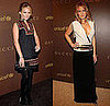 Becki Newton and Blake Lively in Gucci at UNICEF&#039;s Snowflake Lighting in NYC
