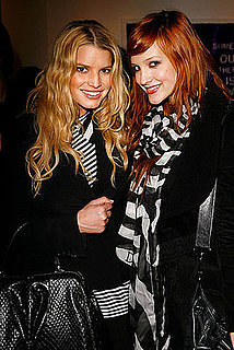 Jessica Simpson and Ashlee Simpson