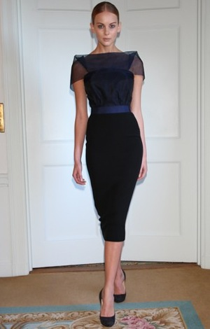 Roland Mouret Helps Victoria Beckham on DVB Dress Collection