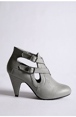 Double Buckle Cutout Boot