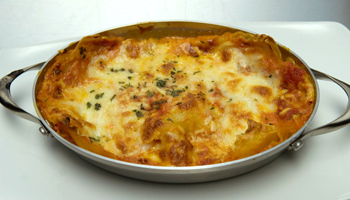 Classic Lasagna With Sheep's Milk Gouda