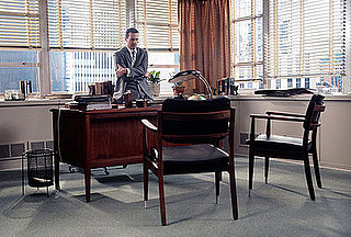 Get the Look: Draper's Dapper Desk Area on Mad Men