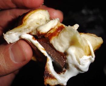 Campfire Cream Puffs