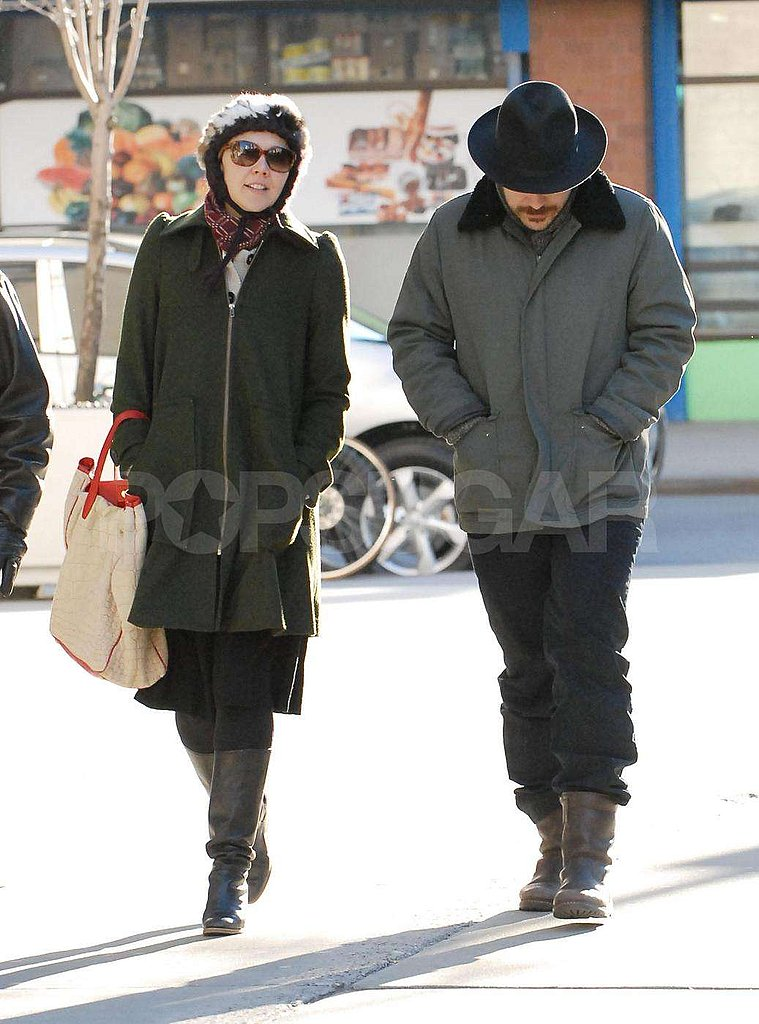 Maggie and Peter Bundled Up in NYC
