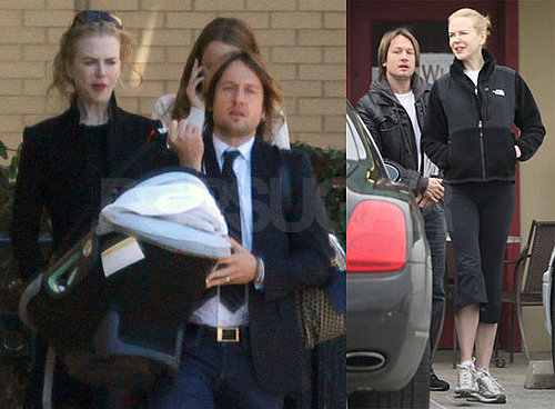 Photos of Nicole Kidman, Keith Urban, and Sunday Rose Urban doing Christmas in Nashville