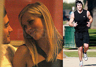 Photos of Jake Gyllenhaal Jogging in LA, Jake and Reese Witherspoon Cuddling Together at Restaurant