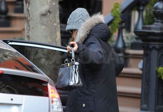 Sarah Jessica Parker Stays Warm in NYC