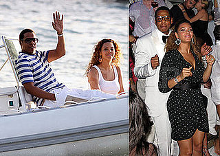 Photos of Beyonce Knowles and Jay-Z in St. Barths On New Year's Eve