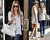 Photos of Lauren Conrad at Lunch with Stephanie Pratt Filming The Hills