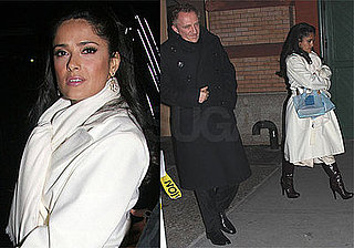 Photos of Salma Hayek and Francois-Henri Pinault at Dinner in NYC
