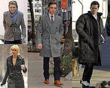 Cast of Gossip Girl on Set