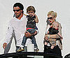 Photo of Gavin Rossdale, Kingston Rossdale, Zuma Rossdale and Gwen Stefani Shopping at Fred Segal